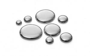 mercury-droplets