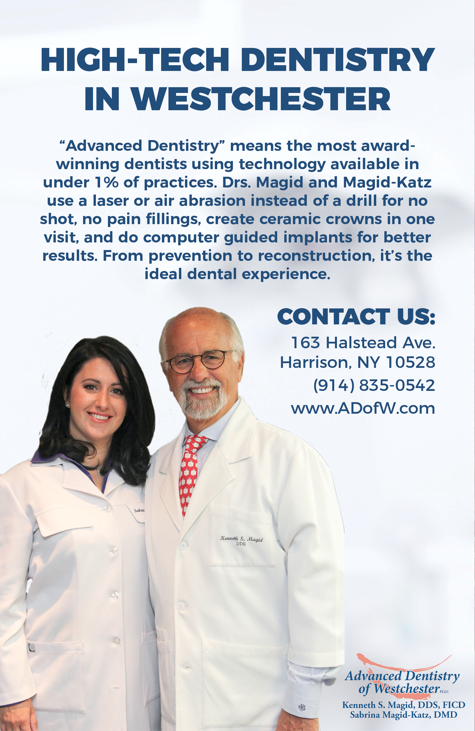 high technology digital dentistry Westchester ny
